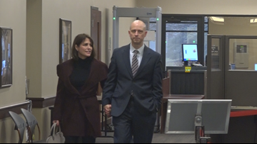 Parents charged with taking dead son's prescription drugs appear in court