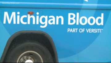 Emergency appeal issued for Michigan blood donors