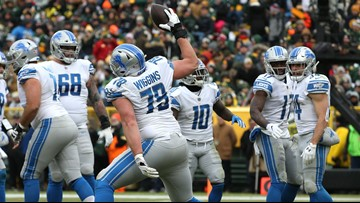 Lions go out winners, fall in draft order with 31-0 shutout of Packers