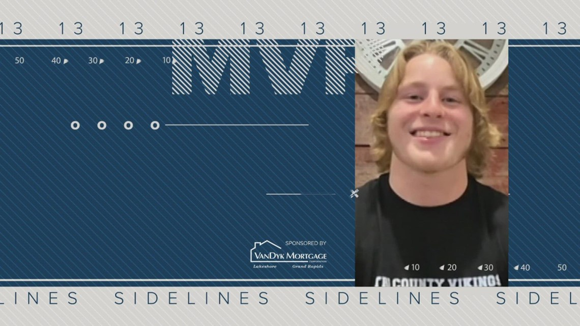 13 On Your Sidelines MVP for Week 8