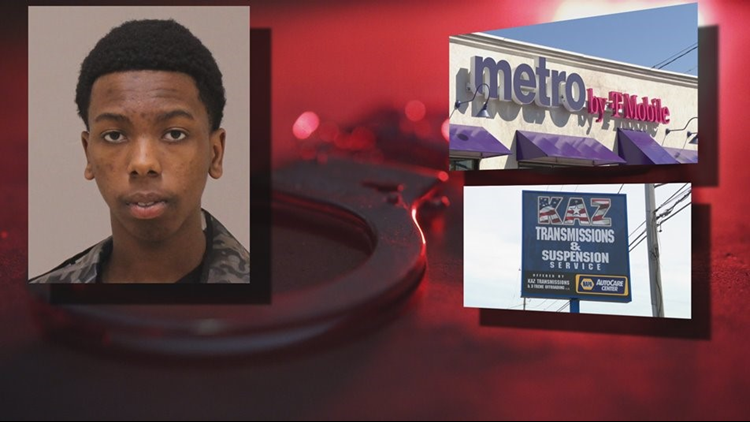Armed robbery at Wyoming cellphone store is one of several felonies facing teen