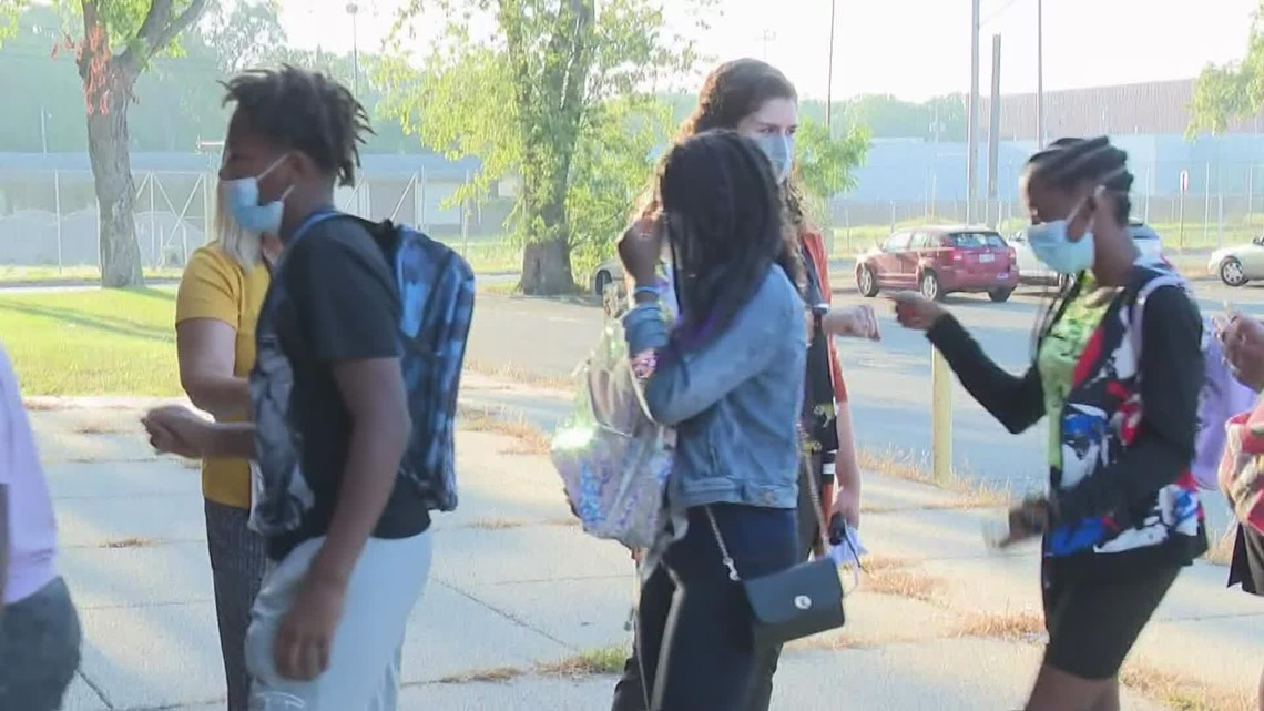Muskegon Heights starts 100th school year with in-person instruction
