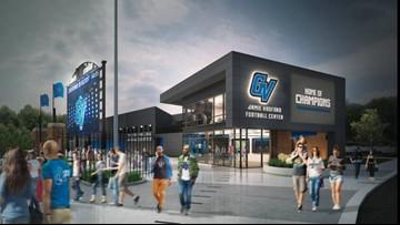 GVSU dedicates new football facility to Jamie Hosford