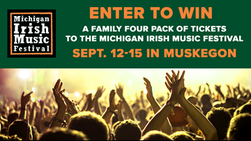 CONTEST COMPLETE - Enter to win tickets to the Michigan Irish Music Festival!