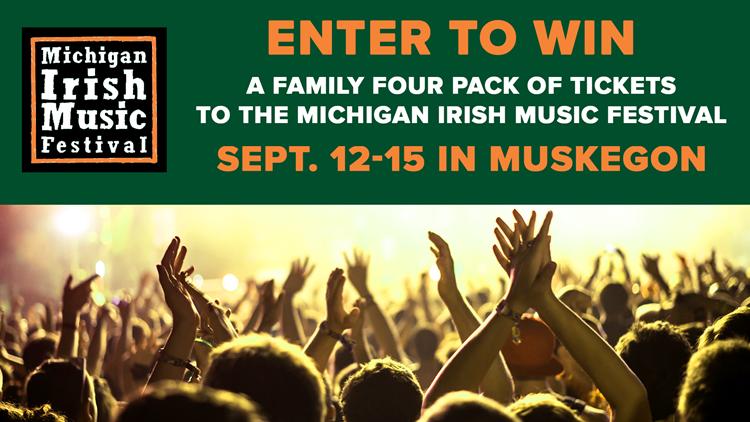 Enter to win tickets to the Michigan Irish Music Festival!