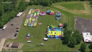 What's Up This Weekend: Bounce houses, Chalk Fest and summer celebrations