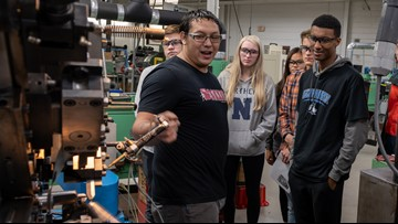 West Michigan manufacturers open their doors to students