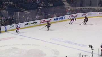 Griffins topple Chicago Wolves in first round of playoffs