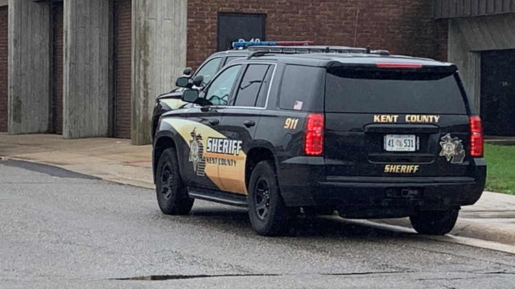 kent county sheriff at KCTC, kent county career tech