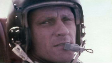 Texas service held for Vietnam War pilot, killed in 1967