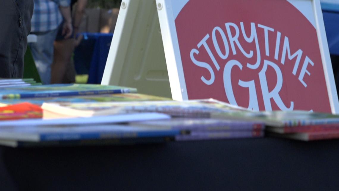 Grand Rapids literacy program offers free books for children