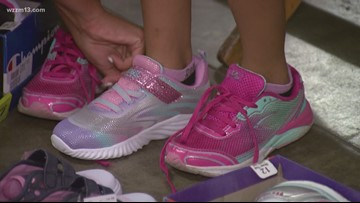 Start the year off on the right foot: Local non-profit gives away free shoes to area kids