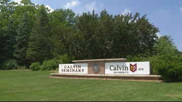 Calvin College changing to Calvin University this week