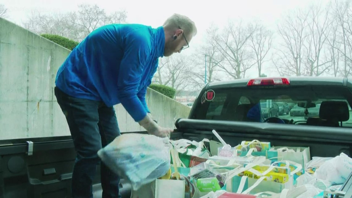 Kellogg's employees donate truck full of toys for Toys for Tots