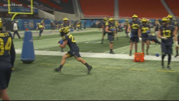 U-M gears up for Peach Bowl