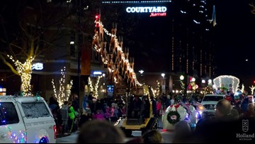 Watch the full Holland Parade of Lights