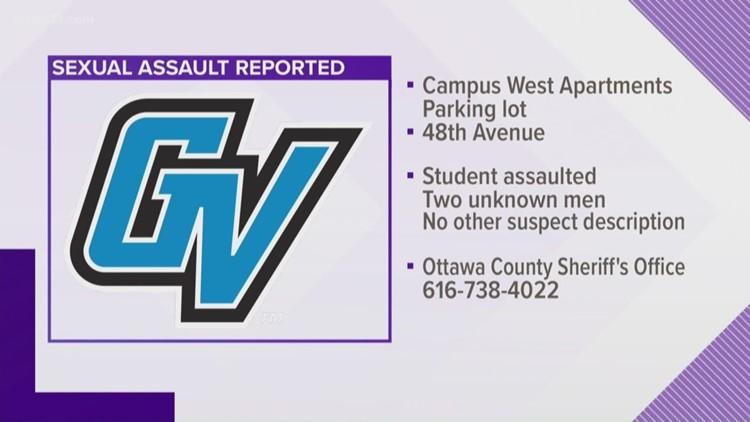 Sexual Assault Reported Near Gvsu Allendale Campus Wzzm13 Com