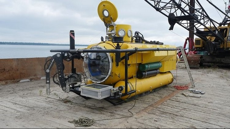 Greg Busch will take some high-tech tools and cutting-edge, side-scan sonar equipment with him on his joint expeditions with the MSRA searching for NWA Flight 2501. His 3-man-submersible should come in handy during the searches.