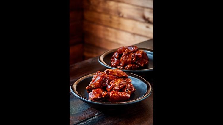 Detroit Wing Co.'s Honey BBQ Wings