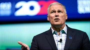 Democratic presidential hopeful Inslee opposes pipeline plan