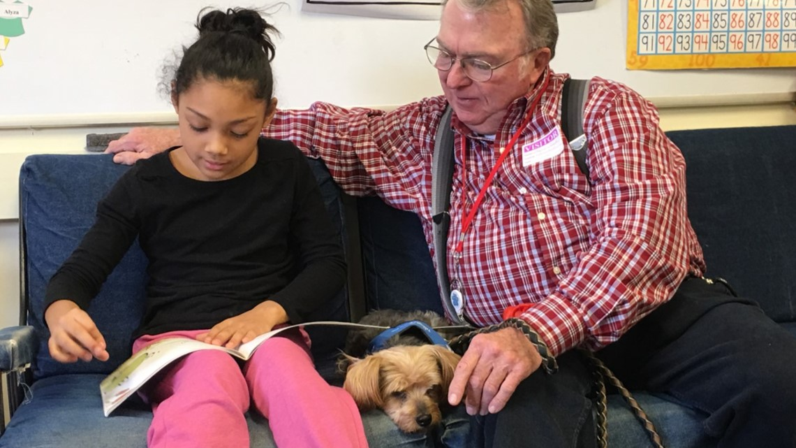 Rosie to the Rescue | Therapy dog empowers young readers