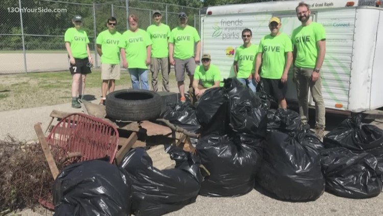 Volunteering Wednesday: Beautifying GR Parks