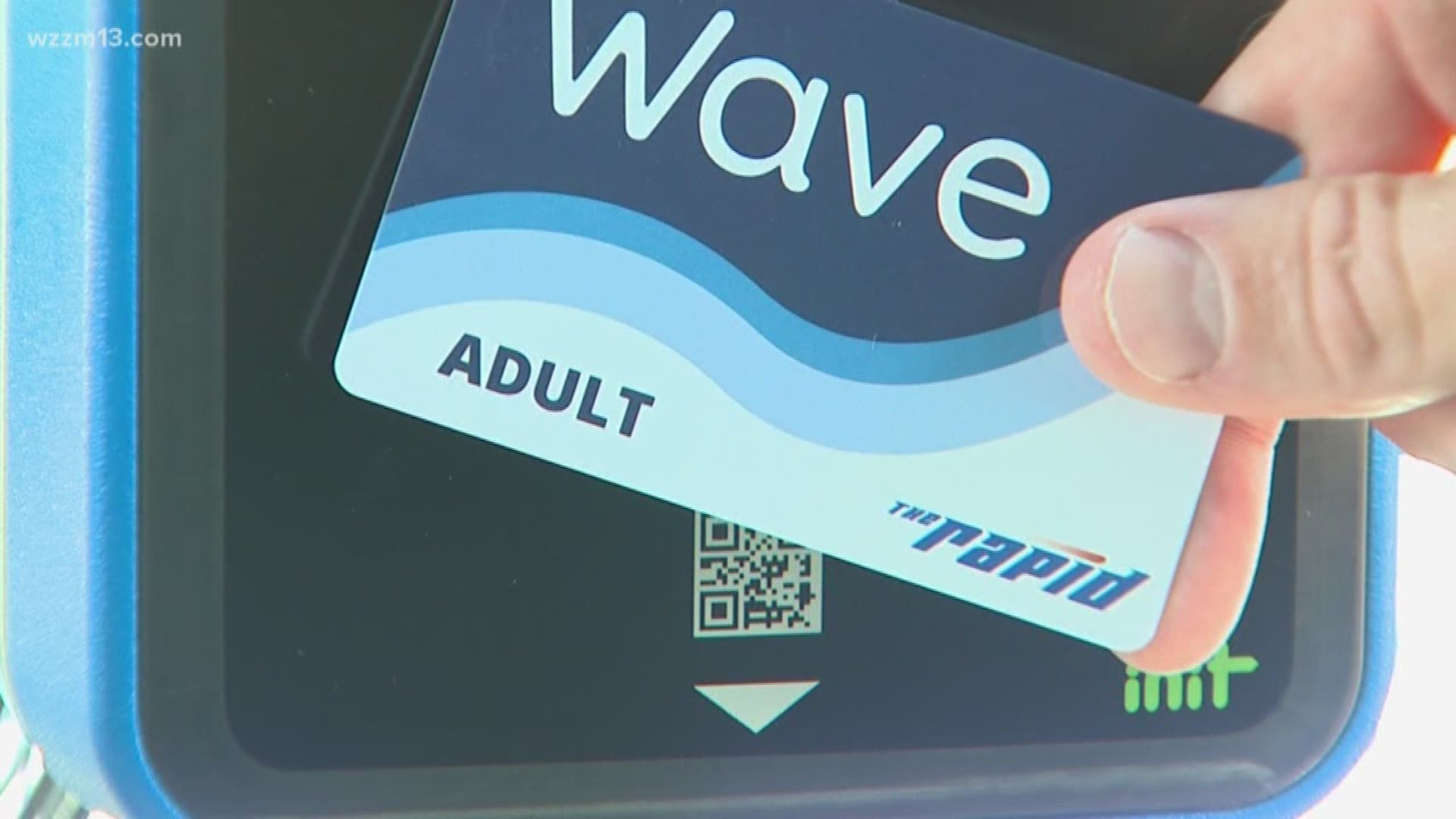 The Rapid Unveils New Debit Card Style Fare System Wzzm13 Com