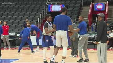 Pistons come home for Game 3 of the playoffs