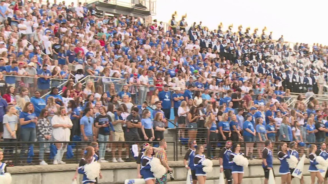 Football in Allendale is back after pandemic-hiatus, GVSU celebrates with win