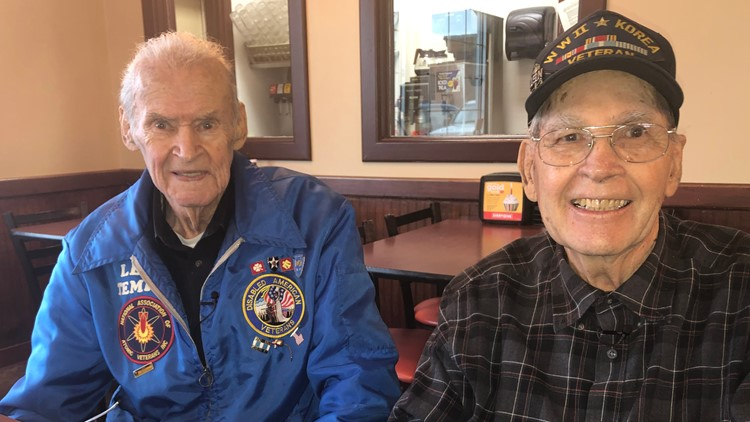 Lenz Temple (left) and Tom Stafford (right).