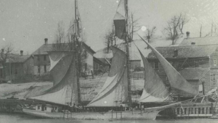 W.C. Kimball schooner.