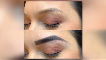 Dying for your eyebrows: Henna tinting