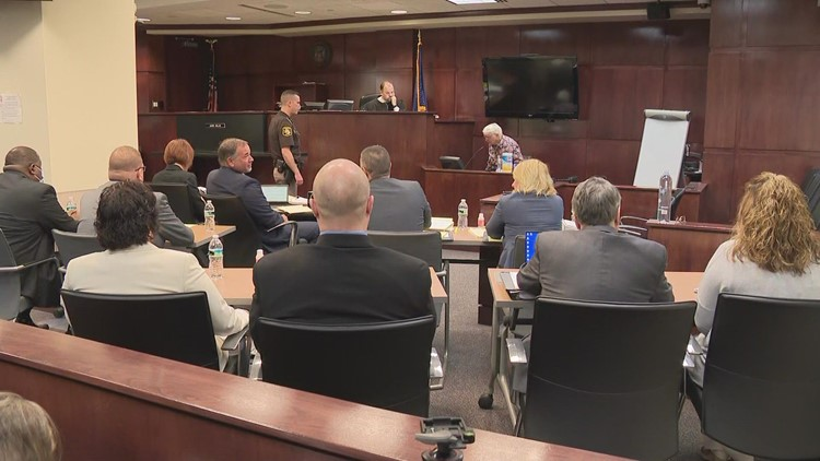 Hearing begins for Muskegon County jail staff charged for inmate's death