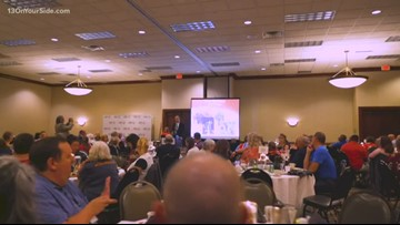 Special Olympics holds annual Hall of Fame Banquet