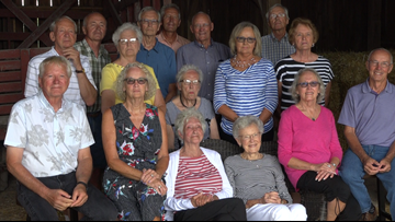 16 siblings hold reunion at their family home of over 100 years