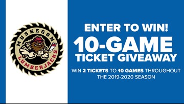 CONTEST COMPLETE: Enter to win tickets to 10 Lumberjacks games this season!