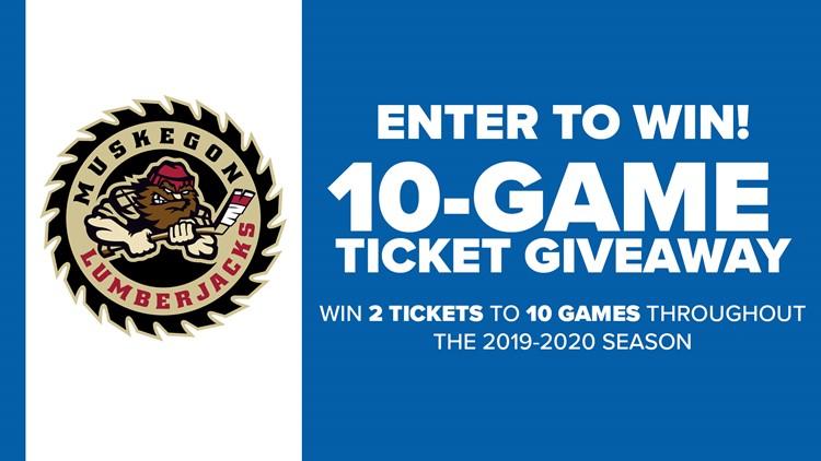 Enter to win tickets to 10 Lumberjacks games this season!