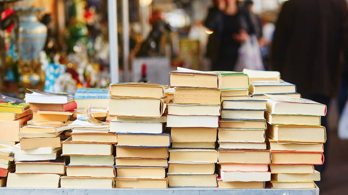 GVSU literacy project supplying books for K-12 libraries