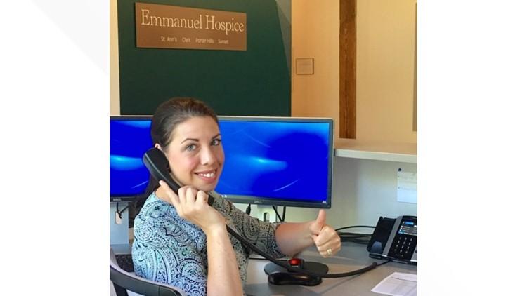 Receptionist Volunteer at Emmanuel Hospice