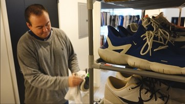 Drive coach driven by passion for sneakers