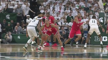 MSU basketball players honored after Big Ten Championship win