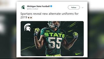 Michigan State football reveals new alternate uniforms
