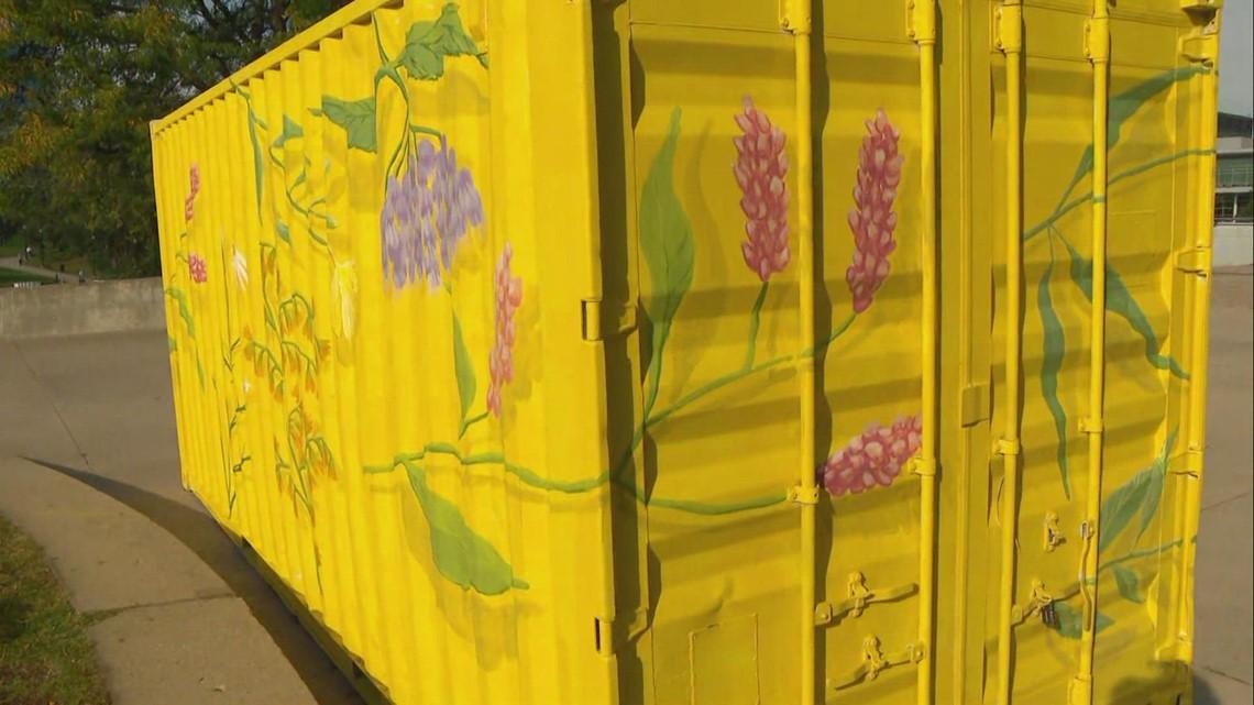 ArtPrize piece 'Found Blooms' features West Michigan wildflowers