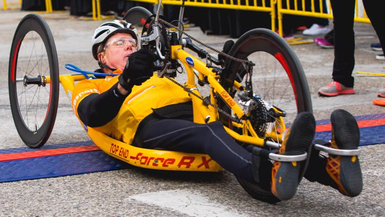 Wheelchair athletes ready for the return of the River Bank Run