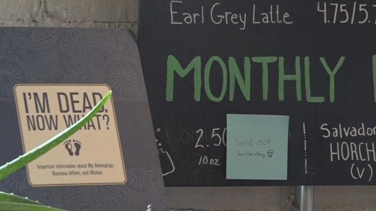 'GRIM CONVERSATION ENCOURAGED': Michigan's first 'Death Cafe' opens in Grand Rapids