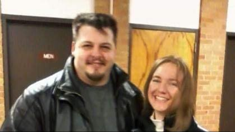Jason Lynch (left) and his wife, DeLynn Lynch (right)
