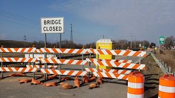 100th Street bridge construction starts March 23