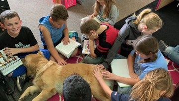 New Paws program is making school a 'paw-sitive' place