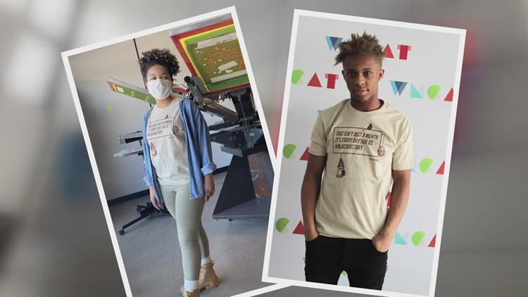 'Not just a month' | Grand Rapids artists design #BlackHistory shirt for Meijer