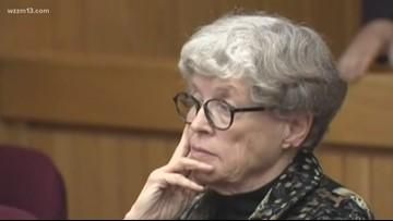 Former MSU president back in court